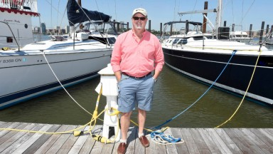 Keith Cooper NYYS Sandy Article Manager on Boat Docks
